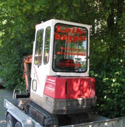 Mini-Bagger ausleihen Münster